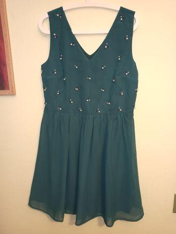 Sukienka zielona Bodyflirt r. 42