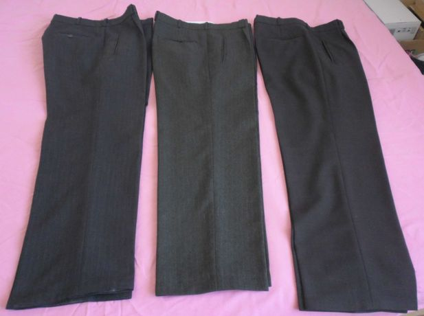 Spodnie  rozm M- 3szt+krawaty - 5szt