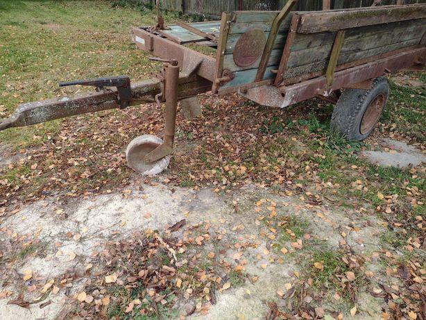 Przyczepka wywrotka sam renowacja ciągnika rolnicza