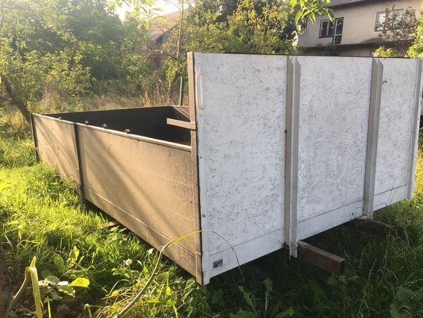 Skrzynia ładunkowa,zabudowa,paka burty aluminiowe