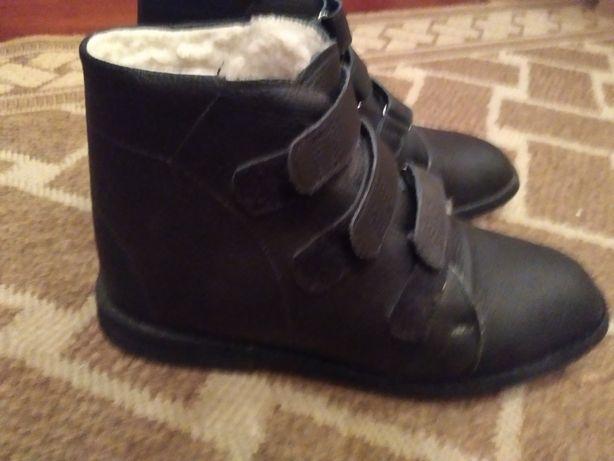 Ортопедические ботинки зима стелька 25 см