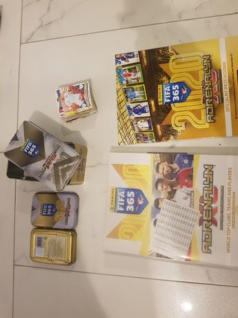 Album Adrenalyn XL 2020 Album + Karty + pudełka