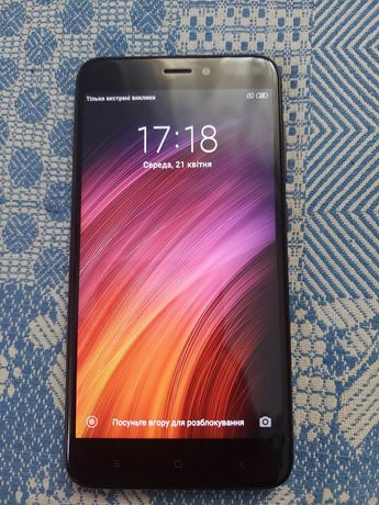 Xiaomi Redmi 4X 4/64 Gb Black