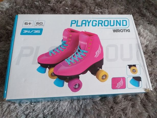 Playground wrotki nowe r 34-35