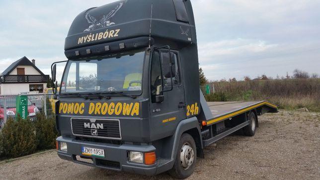 Pomoc Drogowa MAN 8-163 Zamienie F. Vat