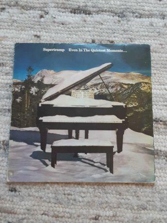 Supertramp LP Even in The Quietest Moments 1st PORT press 1977 winyl