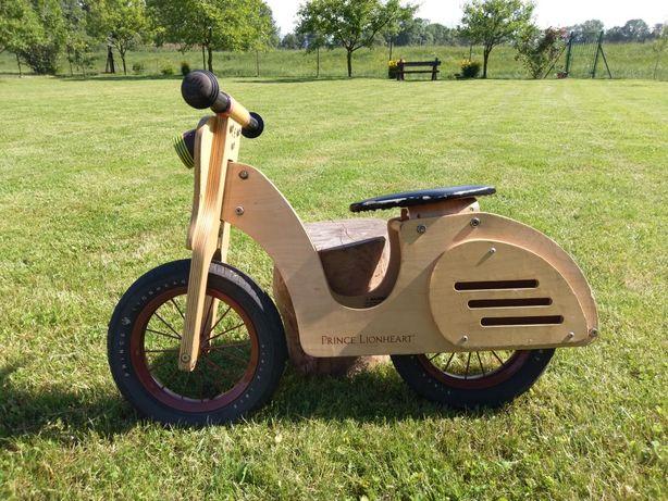 Prince lionheart drewniany rowerek biegowy