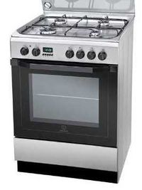 Kuchnia gaz elektryczna Indesit I6GMH6AGXU OUTLET p1808-G23-31HCP56