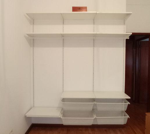 Roupeiro gama JONAXEL IKEA 4 módulos