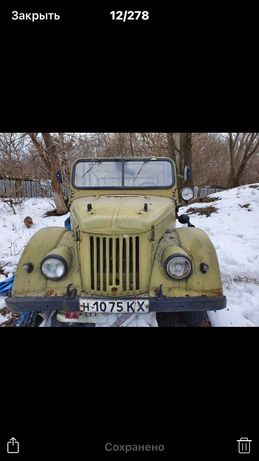 ГАЗ -69А транспорт легковик