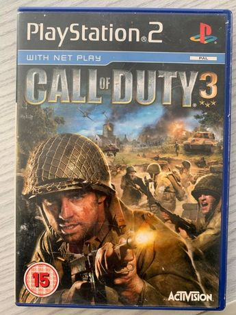 Call Of Duty 3 PlayStation 2 PS2