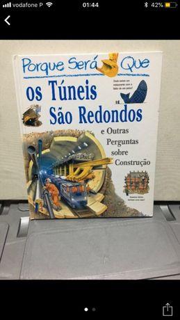 Livro -Porque Sera que os Tuneis sao  redondos