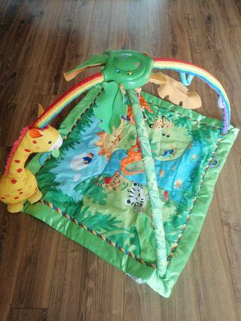 Mata edukacyjna Fisher Price z zabawkami