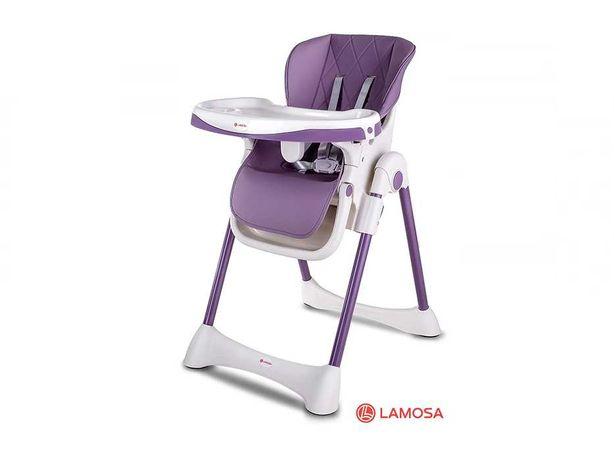 Стульчик для кормления LAMOSA ELITE фиолетовый
