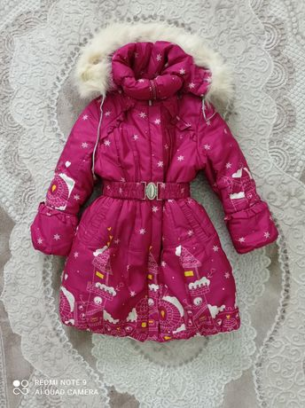 Зимня курточка для дівчинки