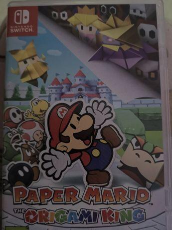 Zamienię Paper Mario origami king nintendo switch