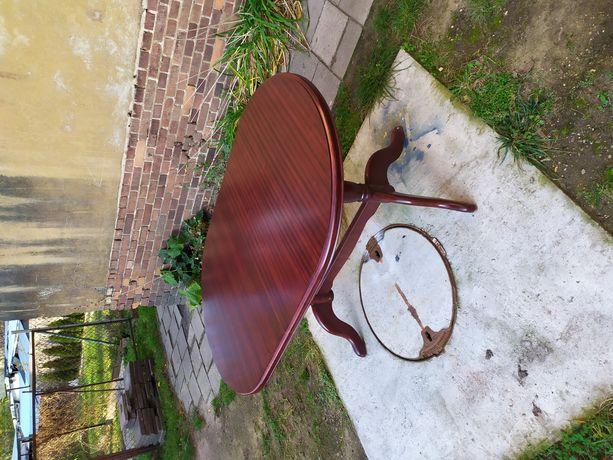 Stół drewniany solidny rozkładany 195x90x75cm możliwość transportu