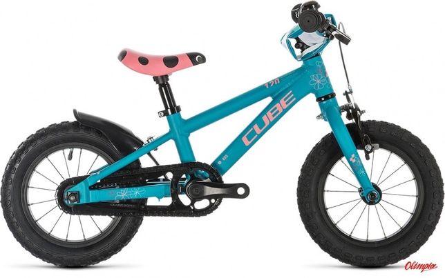 Lekki Cube pierwszy rower dla dziewczynki Cubie dzieciecy mietowy róż