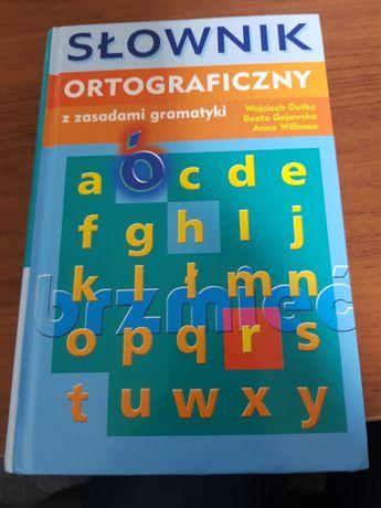 Nowy słownik ortograficzny z zasadami gramatyki
