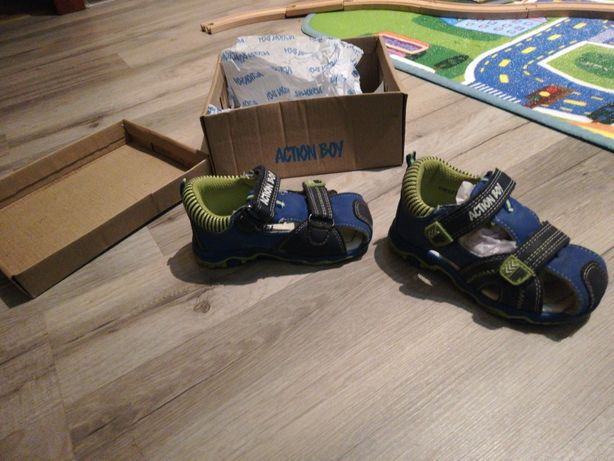 Sandałki Action Boy rozmiar 22