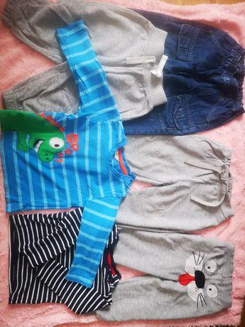 Ubrania chłopięce 80 86