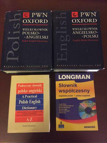 Slowniki polsko-angielskie angielsko-polskie