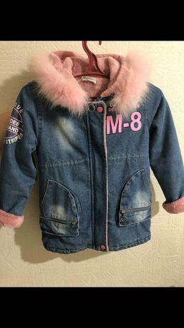 Куртка дитяча, весна- осінь, зріст 140