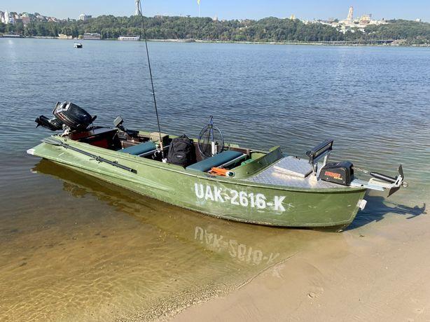 Лодка Южанка, Казанка. Evinrude (Johnson) 25-35