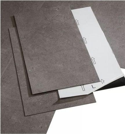 panel winylowy vinyl podłoga samoprzylepny 68m2 szary grey