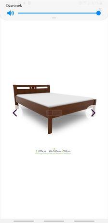 Łóżko jednoosobowe bukowe