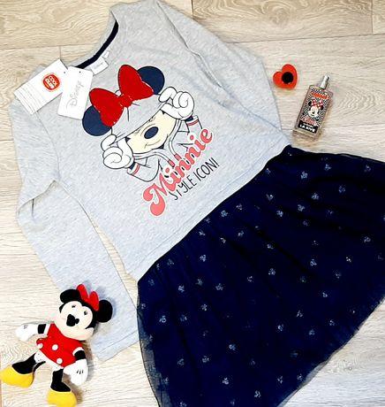Новое Платье супер стильное теплое от Disney