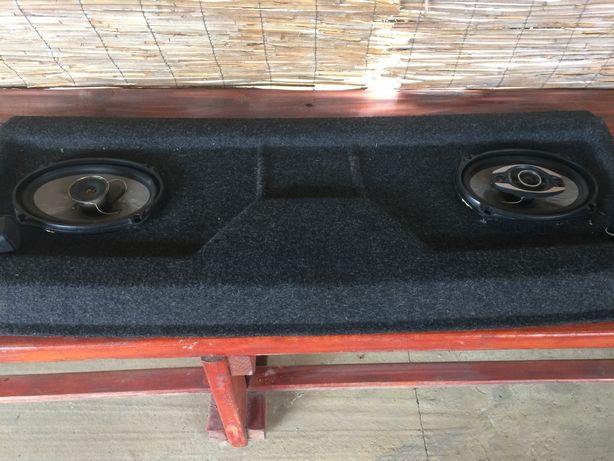 Колонки і панель в авто Pioneer з пещалками(Нива)