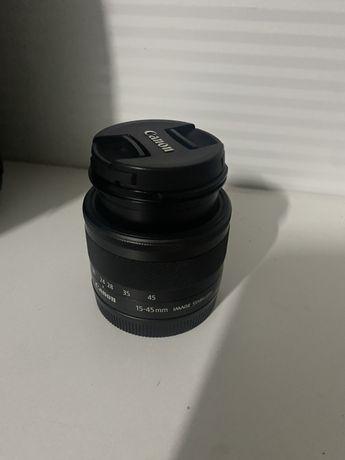 Lente objectiva Canon 15-45 original
