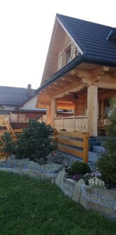 Domek z bali z kominkiem w góraçh 6 - 8 osób ferie,wakacje, noclegi.