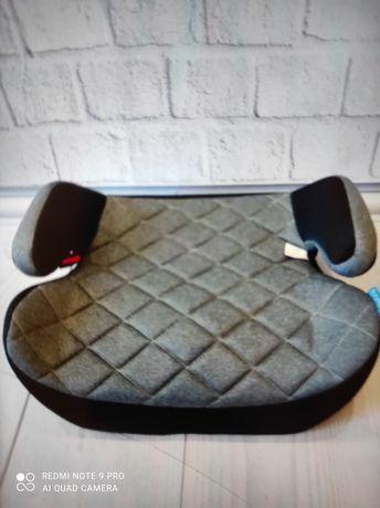 Детское автокресло бустер удобное с подлокотниками