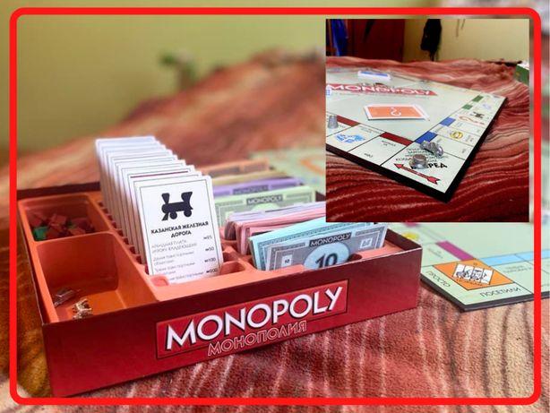 Монополия. Настольная игра ТОП среди игры. Оплата при получении $$$