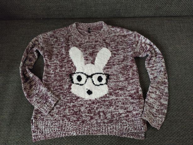 Damski Sweter z królikiem S