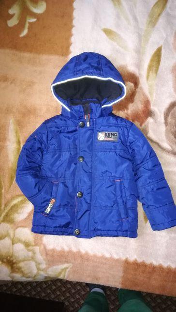 Деми куртка на мальчика 3-4 года (рост 92-100см) Весна-осень