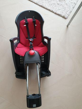 Fotelik rowerowy Hamax Siesta z funkcją odchylenia do snu