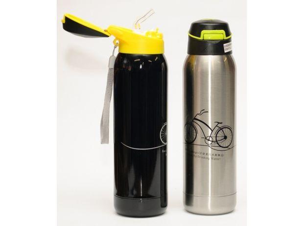 Термос Т69 (500 мл) для горячих и холодных напитков с трубочкой 0,5л