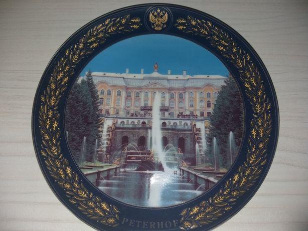 Сувенирная тарелка. Декоративная тарелка