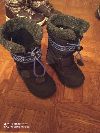 Зимние ботинки сапожки  Kamik