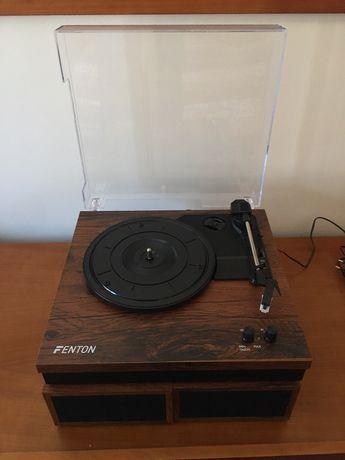 Gira-discos fenton rp165b de tração por correia
