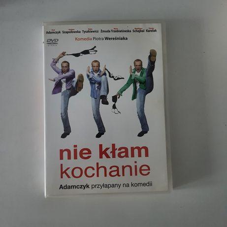 Nie kłam kochanie * film DVD * Adamczyk Trzebiatowska Karolak komedia