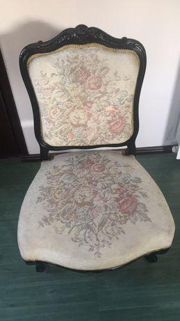Antyk krzesło do renowacji