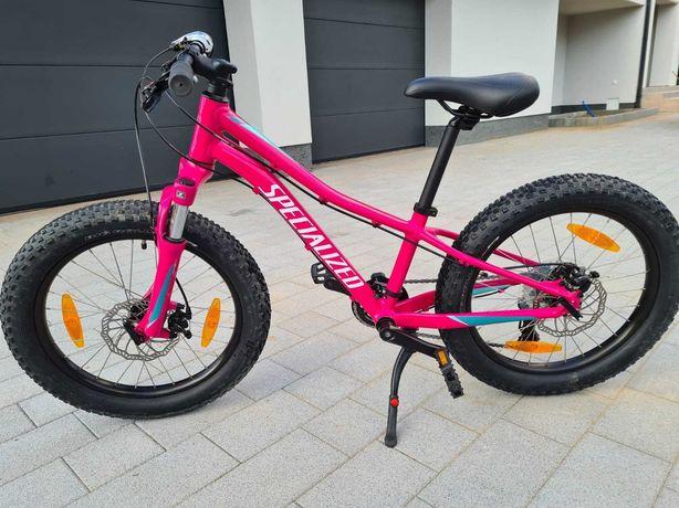 Rower dziecięcy marki specialized, dla dziewczynki