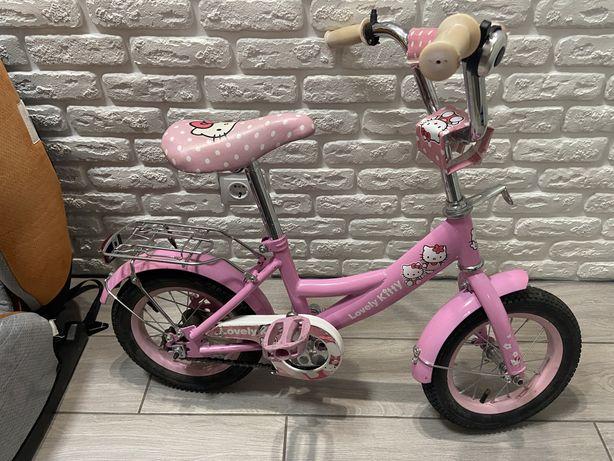 Велосипед для девочки 14