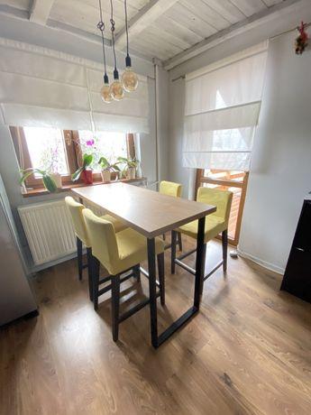 Stół barowy i 4 krzesła