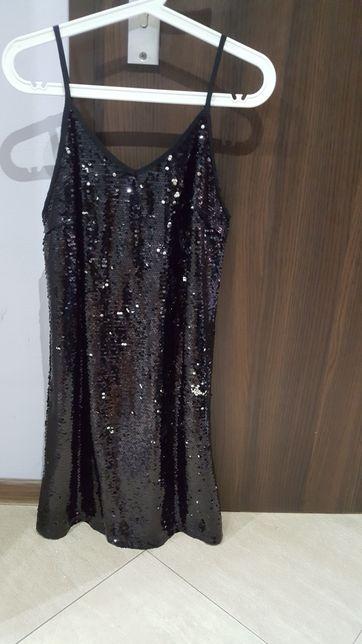 sukienka cekiny L