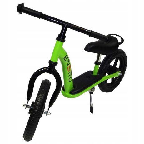 Jak nowy Rowerek biegowy z podestem 12 cali Enero pełne koła